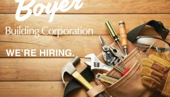 Boyer Building Corporation is Looking to Hire Carpenters